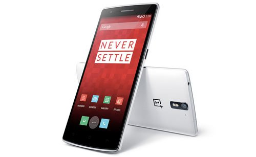 OnePlus One Silk White