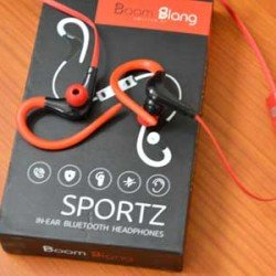 BoomSlang Sportz In-ear Bluetooth Earphones