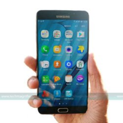 Samsung Galaxy A9 pro mobile phone
